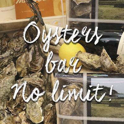 Oysters Bar- les huîtres à l'honneur